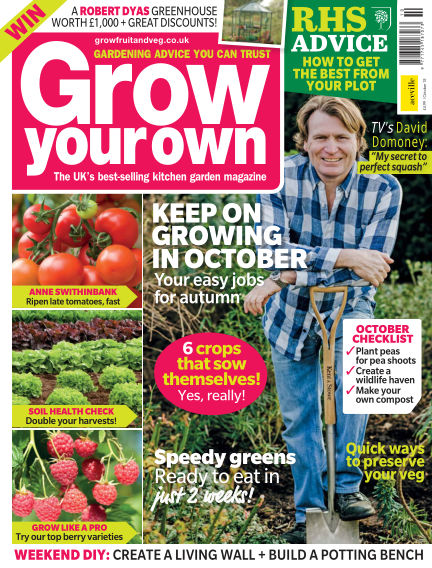 Grow Your Own September 06, 2018 00:00