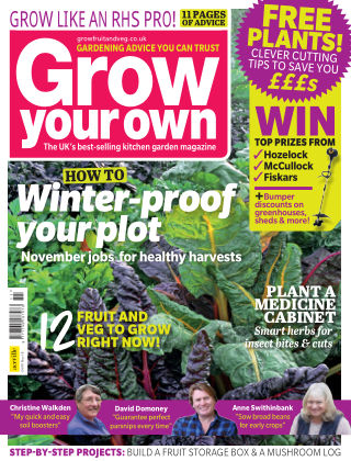 Grow Your Own November2018