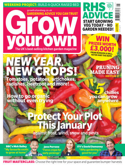 Grow Your Own November 29, 2018 00:00