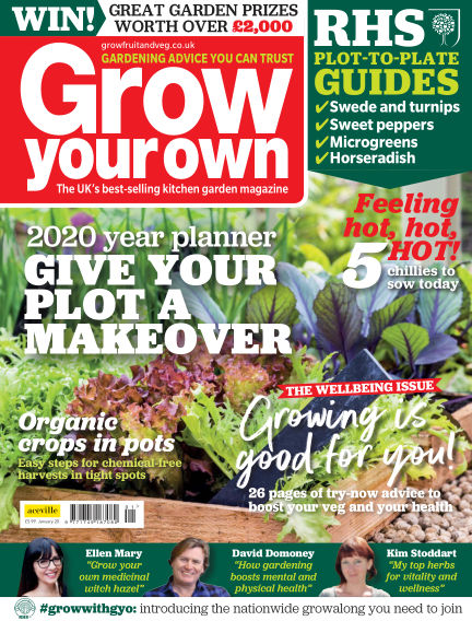 Grow Your Own November 28, 2019 00:00