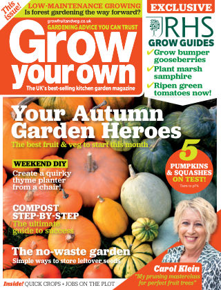Grow Your Own OCTOBER20