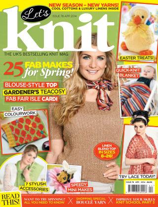 Let's Knit April 2014