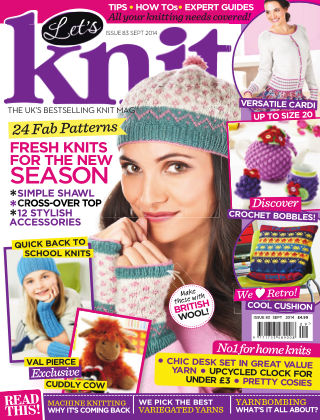 Let's Knit September 2014