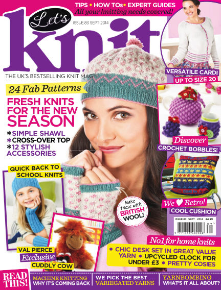 Let's Knit August 01, 2014 00:00