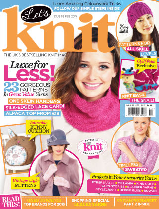 Let's Knit February 2015