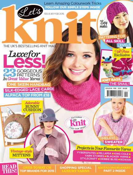 Let's Knit January 23, 2015 00:00