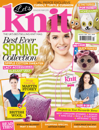 Let's Knit March 2015