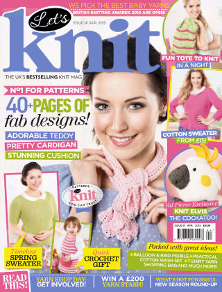 Let's Knit April 2015