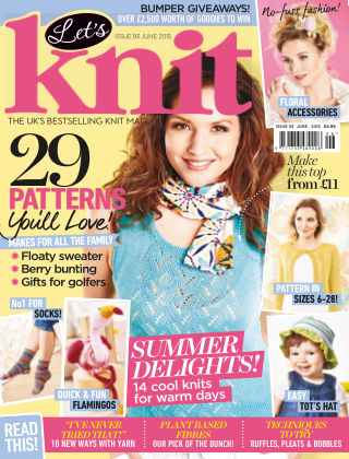 Let's Knit June 2015