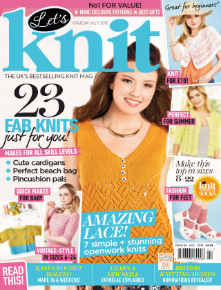 Let's Knit July 2015