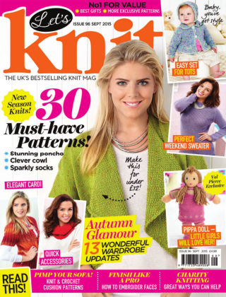 Let's Knit September 2015