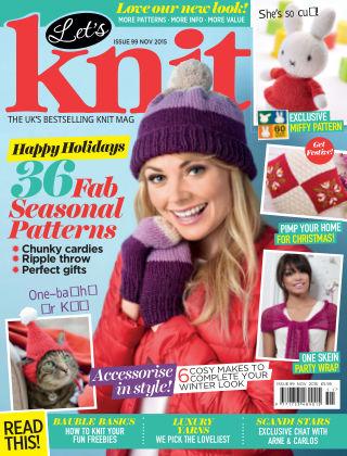 Let's Knit November 2015