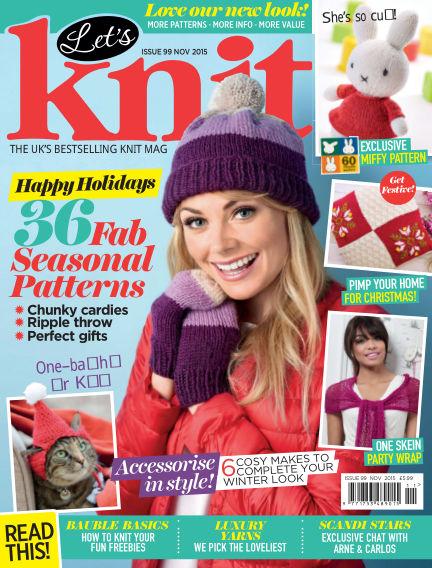 Let's Knit October 30, 2015 00:00