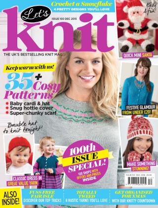 Let's Knit December 2015