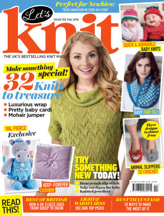 Let's Knit February 2016