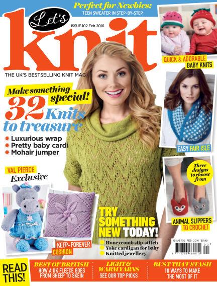 Let's Knit January 22, 2016 00:00