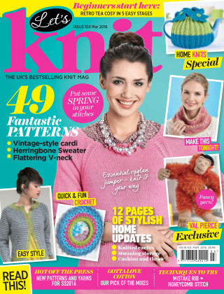 Let's Knit March 2016