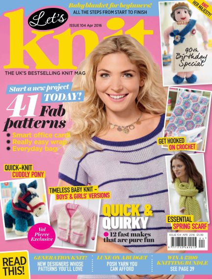 Let's Knit March 18, 2016 00:00