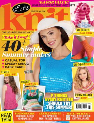 Let's Knit July 2016