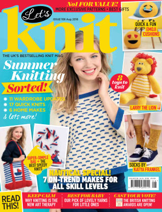 Let's Knit August 2016