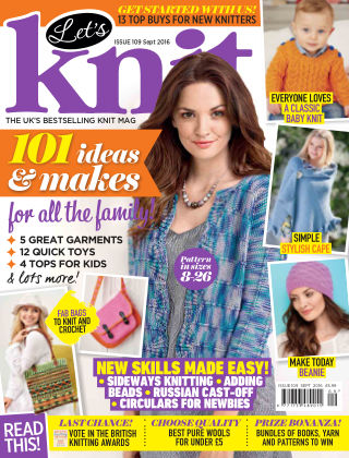 Let's Knit September 2016