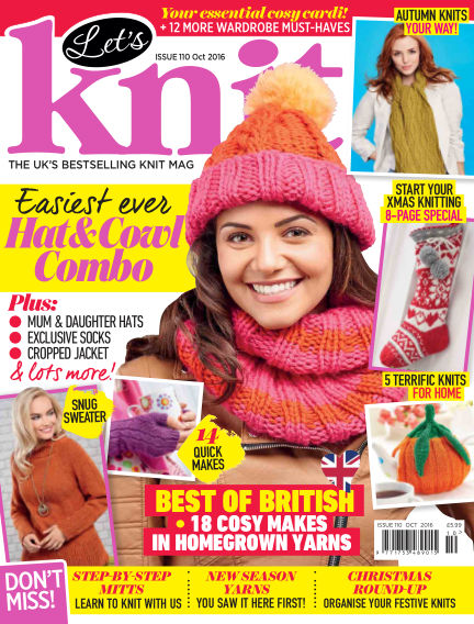 Let's Knit September 02, 2016 00:00