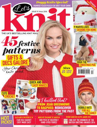 Let's Knit Xmas Spec 2016