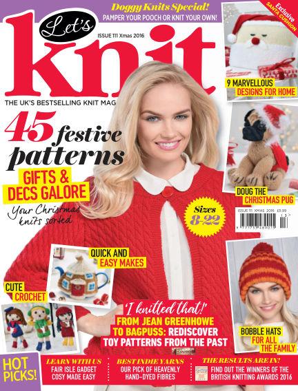 Let's Knit September 30, 2016 00:00