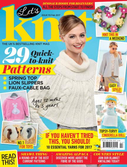 Let's Knit January 20, 2017 00:00