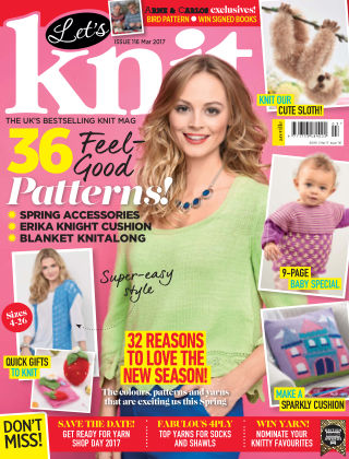 Let's Knit March 2017