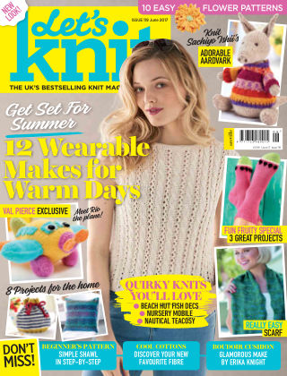 Let's Knit June 2017