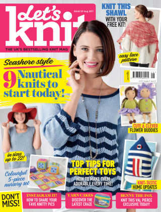 Let's Knit August 2017