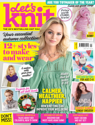 Let's Knit September 2017