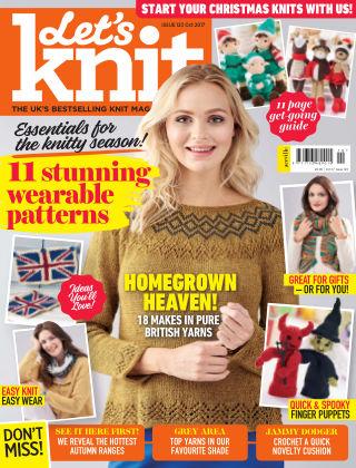 Let's Knit October 2017