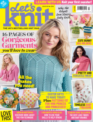 Let's Knit March 2018