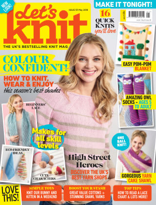 Let's Knit May 2018