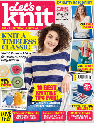 Let's Knit Aug 2018