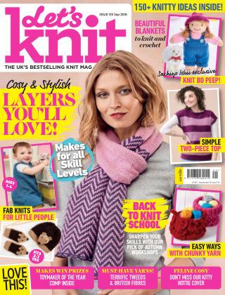 Let's Knit Sep 2018