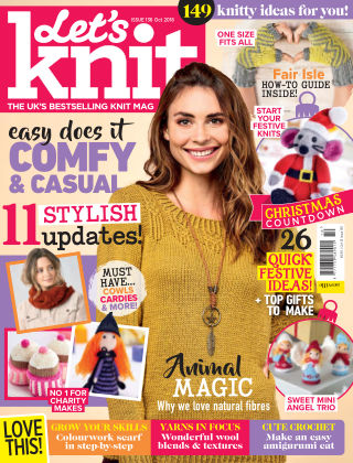 Let's Knit Issue136