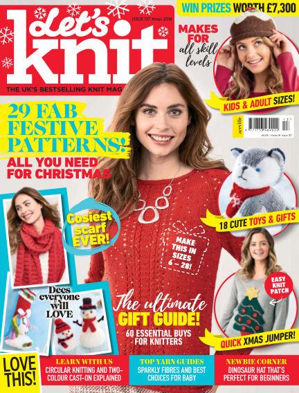 Let's Knit September 27, 2018 00:00