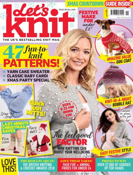 Let's Knit October 25, 2018 00:00