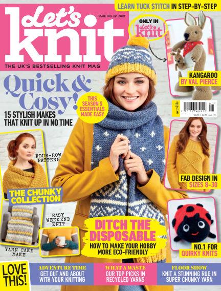 Let's Knit December 20, 2018 00:00