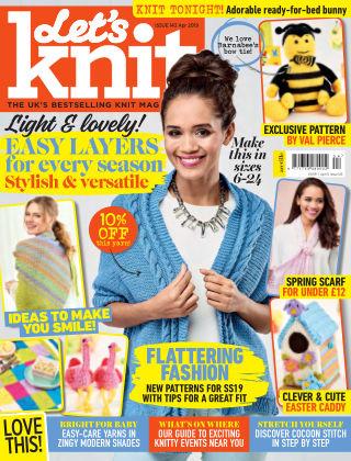 Let's Knit Apr 2019