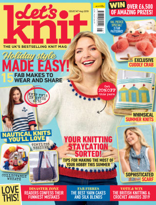 Let's Knit August 2019