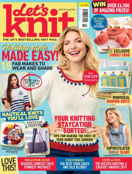 Let's Knit July 04, 2019 00:00