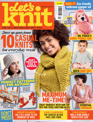 Let's Knit SEPTEMBER2019