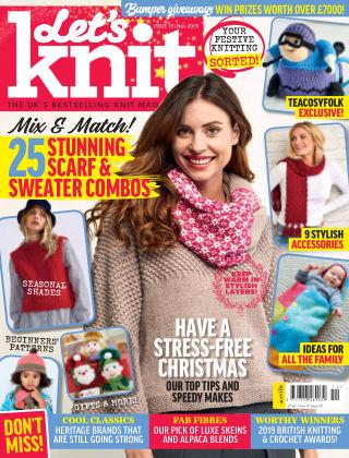 Let's Knit NOV