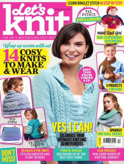Let's Knit November 22, 2019 00:00