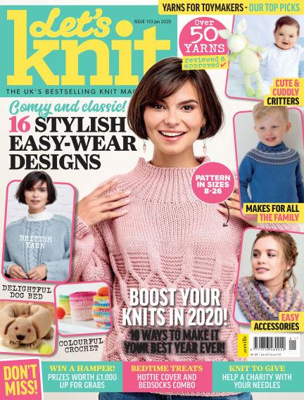 Let's Knit December 19, 2019 00:00