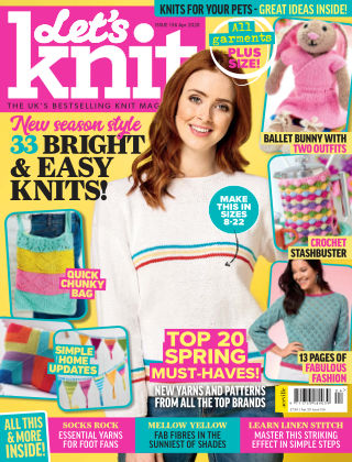 Let's Knit APRIL